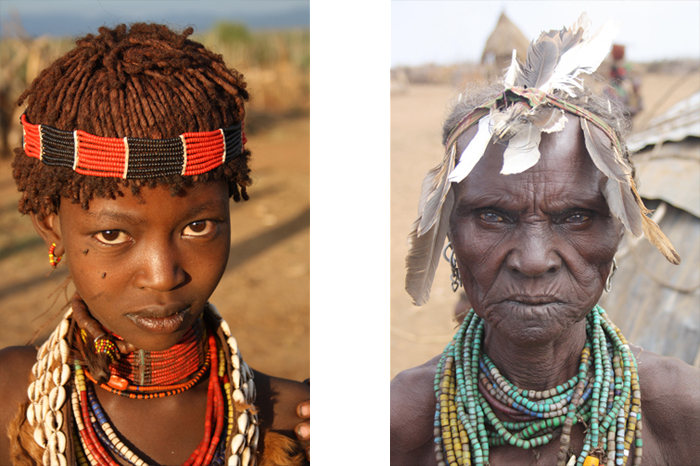 African people retouched